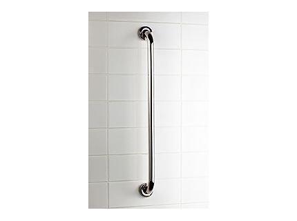 Prosty uchwyt łazienkowy Bisk Masterline PRO 04783 600 mm - atestowana poręcz łazienkowa