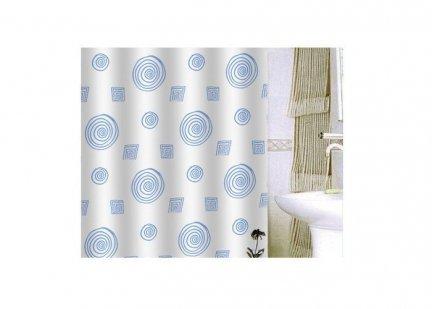 Zasłona prysznicowa tekstylna Bisk ORIENT 08610