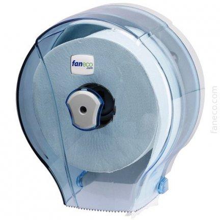 Pojemnik (podajnik) Faneco JET S (J18PGWT) na papier toaletowy w rolkach, ścienny, plastikowy ABS