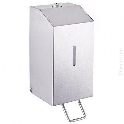 Dozownik mydła i płynów dezynfekcyjnych metalowy 0,65 l LAB (SA650SHB)