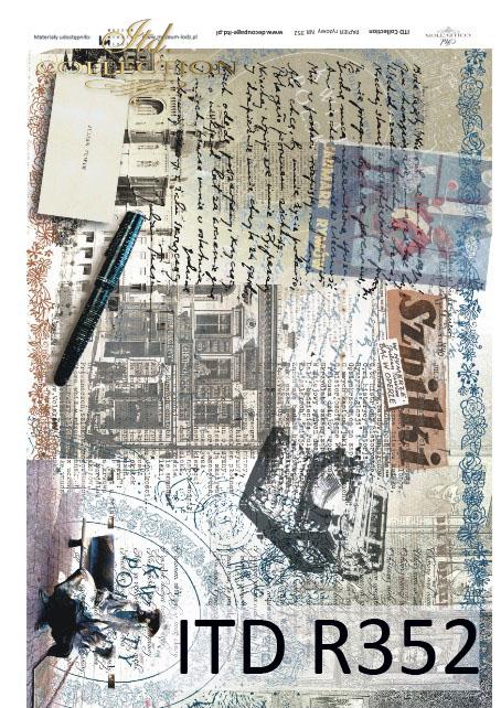 Papier docoupage z Tuwimem