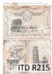 Rýžový papír pro decoupage R0215