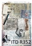 Rýžový papír pro decoupage R0352