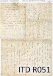 Rýžový papír pro decoupage R0051