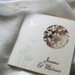 Einladungskarten / Hochzeitskarte 1726_41_Heideblume