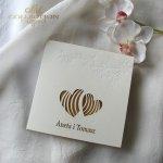 Einladungskarten / Hochzeitskarte 01723_37_gelb