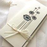 Einladungskarten / Hochzeitskarte 01729_61_marineblau