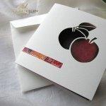 Einladungskarten / Hochzeitskarte 01731_45_Äpfel