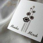 Einladungskarten / Hochzeitskarte 01731_61_Pfingstrose