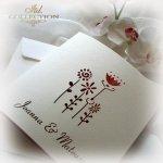 Einladungskarten / Hochzeitskarte 01732_51_Gerbera