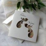 Einladungskarten / Hochzeitskarte 01731_49_Heideblume