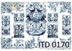 Decoupage paper ITD D0170