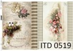 Decoupage paper ITD D0519