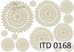Decoupage paper ITD D0168