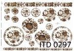 Decoupage Paper ITD D0297