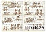 Decoupage paper ITD D0425