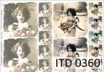 Decoupage paper ITD D0360
