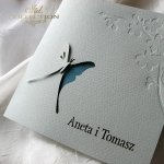 Invitations / Wedding Invitation 01724_18_turquoise