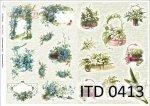 Decoupage paper ITD D0413