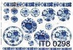 Decoupage Paper ITD D0298