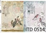 Decoupage paper ITD D0514