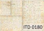 Decoupage paper ITD D0180