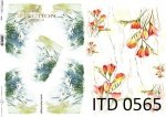 Decoupage paper ITD D0565