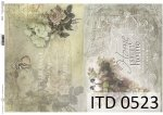 Decoupage paper ITD D0523