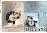 Decoupage paper ITD D0543