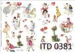Decoupage paper ITD D0381