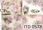 Decoupage paper ITD D0578