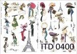 Decoupage paper ITD D0400