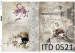 Decoupage paper ITD D0521