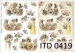 Decoupage paper ITD D0419