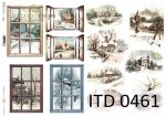 Decoupage paper ITD D0461