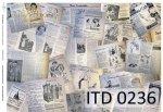 Decoupage paper ITD D0236
