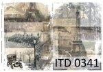 Decoupage paper ITD D0341