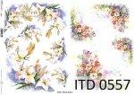 Decoupage paper ITD D0557