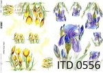 Decoupage paper ITD D0556