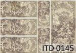 Decoupage paper ITD D0145
