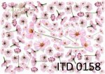 Decoupage paper ITD D0158