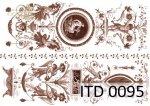 Decoupage paper ITD D0095