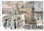 Decoupage paper ITD D0340