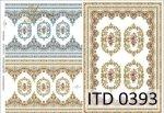 Decoupage paper ITD D0393