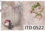 Decoupage paper ITD D0522