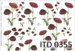 Decoupage paper ITD D0355