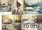 Decoupage paper ITD D0216