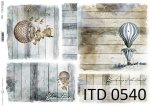 Decoupage paper ITD D0540