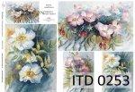 Decoupage paper ITD D0253