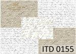 Decoupage paper ITD D0155